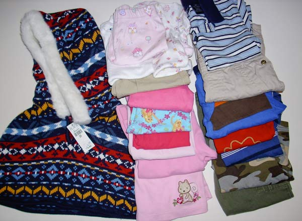 thrifty baby clothes