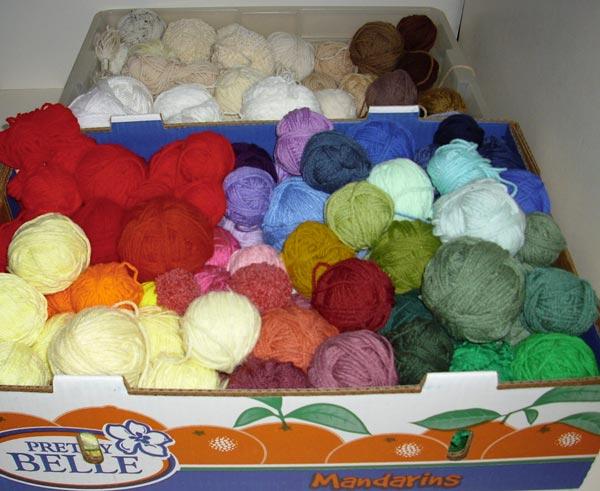 scrap yarn boxes