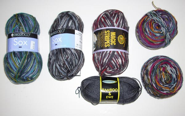 chosen sock yarns