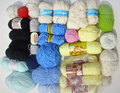 158A sport-weight yarns
