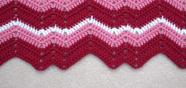 My Wriggly Ripple Pattern Alottastitches