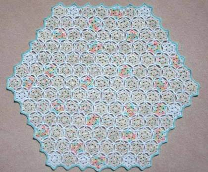 307 Star Flower Baby Blanket