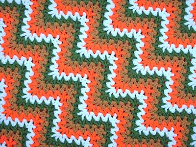 Crochet a Cluster V Stitch - Blanket Crochet Geek - YouTube