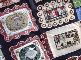 378 47 needlepunch examples - close-up