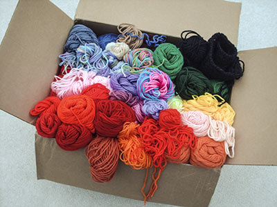 374 yarn rainbow