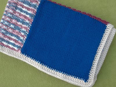 385 - 99 cent blanket - folded