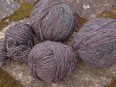 399 rosy mocha wool yarn
