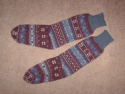 397 sox - laying flat
