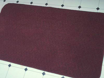 405 burgundy kitchen mat