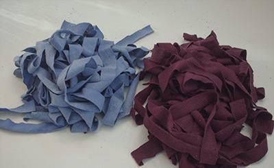 418 piles of tarn strips