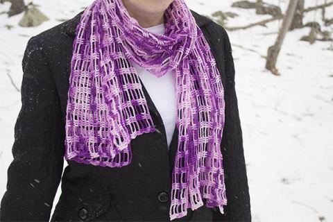 425 loose scarf