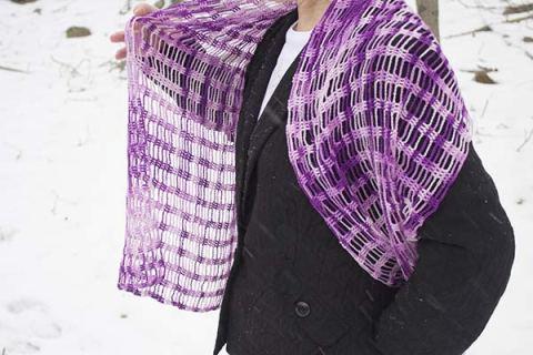 425 purple wrap