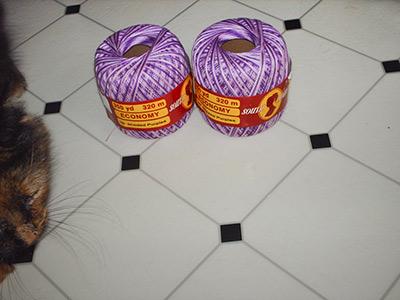 425 purple thread