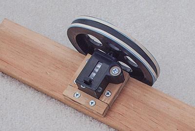 432 DIY yarn meter