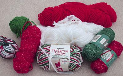 433 'Christmas' yarn