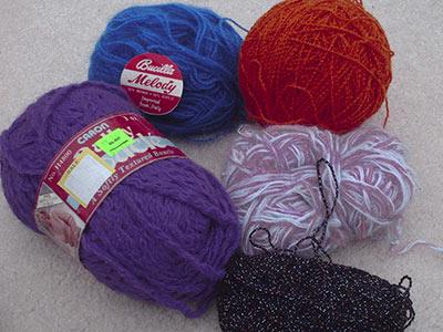 433 'special' yarns