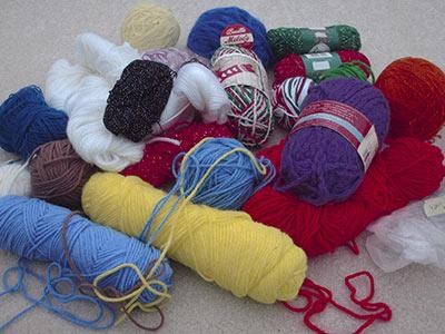 433 yarn pile