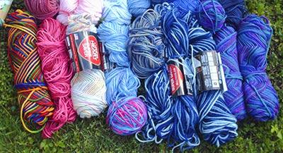443 variegated RHSS yarns