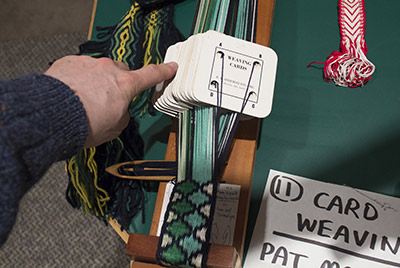 449 card weaving