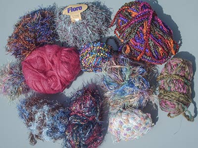 463 novelty yarns