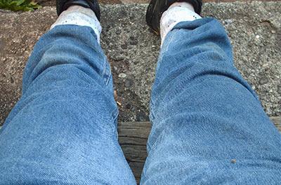 466 wet jeans