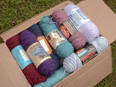 475 box of skeins