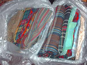 482 2 wool plaids