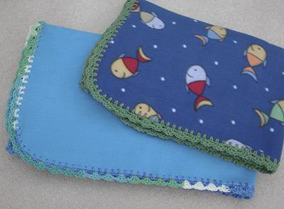 484 Two Blue Fleeces