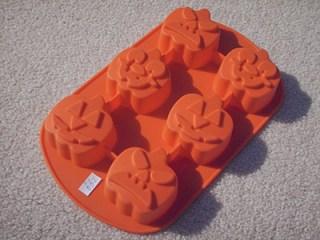 Jack o' lantern molds