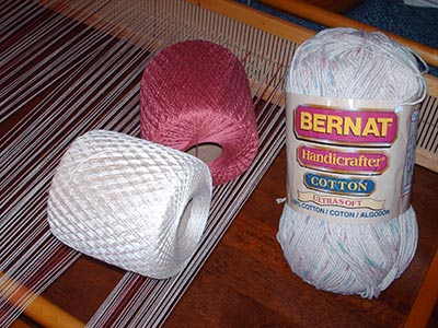 487 three cotton yarns