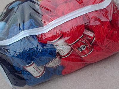 496 rugyarn in bag