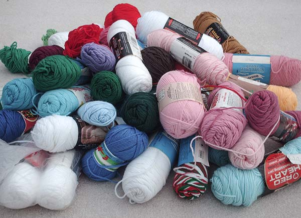 503 pile of yarn