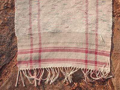 508  weaving plaid