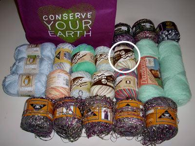583 yarn with bag 1