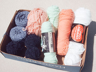 589 yarn selection