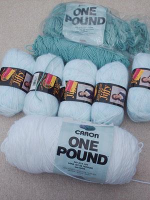 Lion Brand Jiffy Yarn  Lot of 6//Six Skeins Espresso Color BRAND NEW