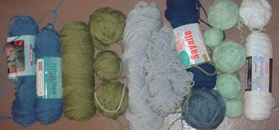 698 BLGR-yarns